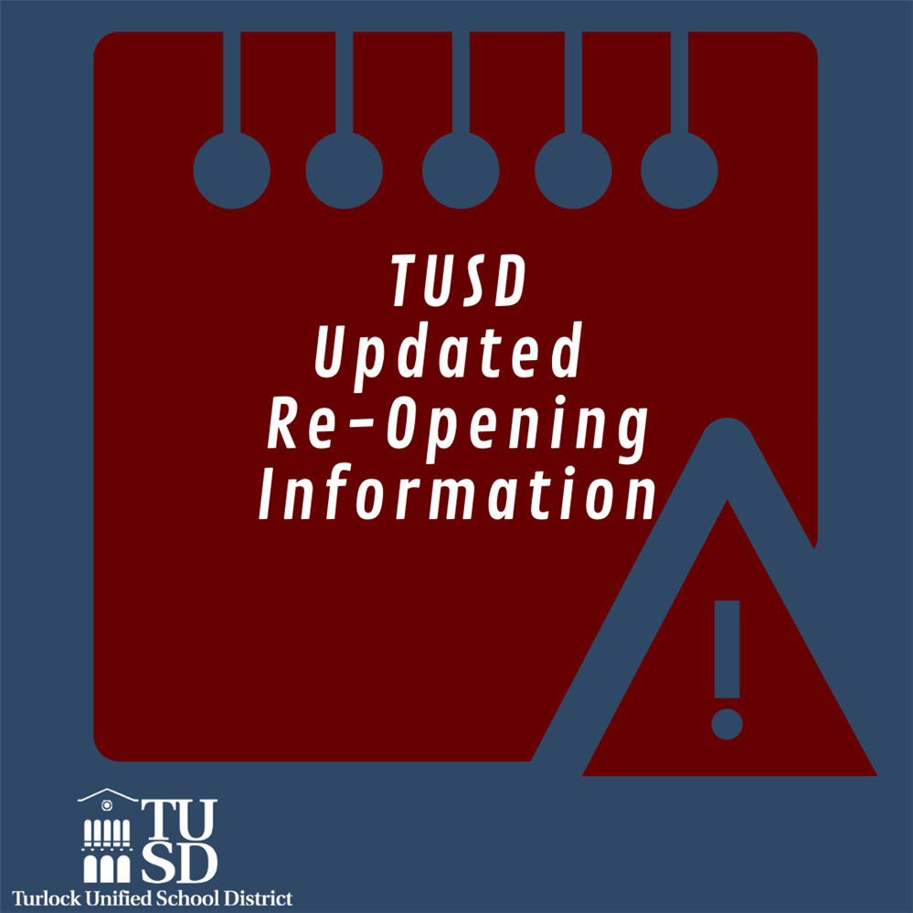 Updated Re-Opening Info